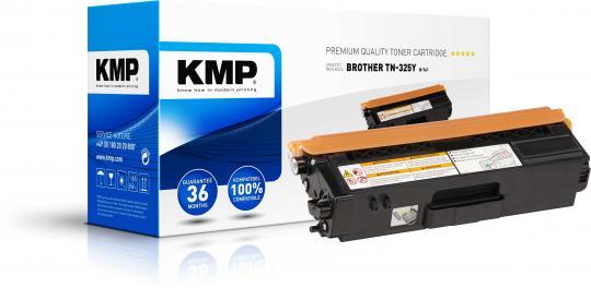 KMP Toner ersetzt Brother TN 326 yellow